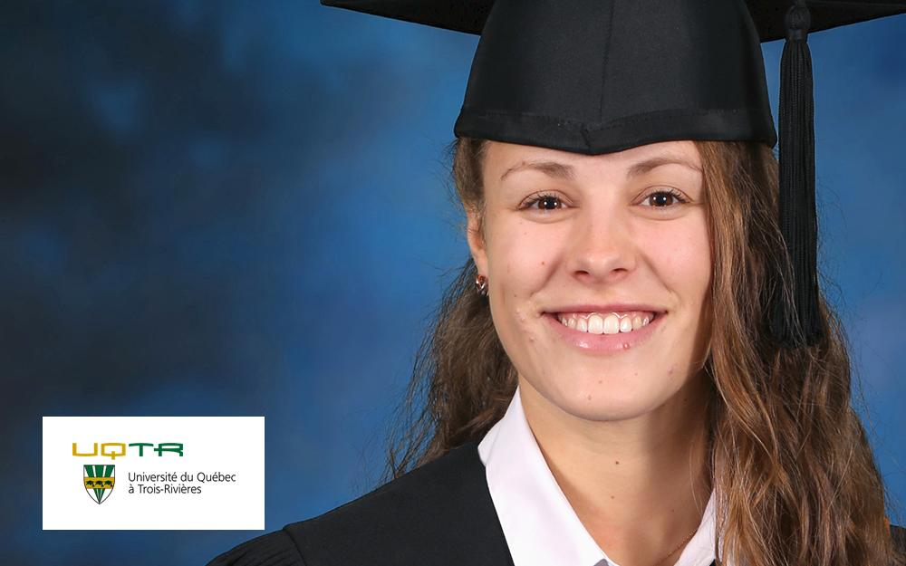 MARIE CHARBONNEAU-GENEST WAS AWARDED A NEW GENERATION SCHOLARSHIP IN 2019.