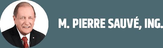 M. PIERRE SAUVÉ, ING.